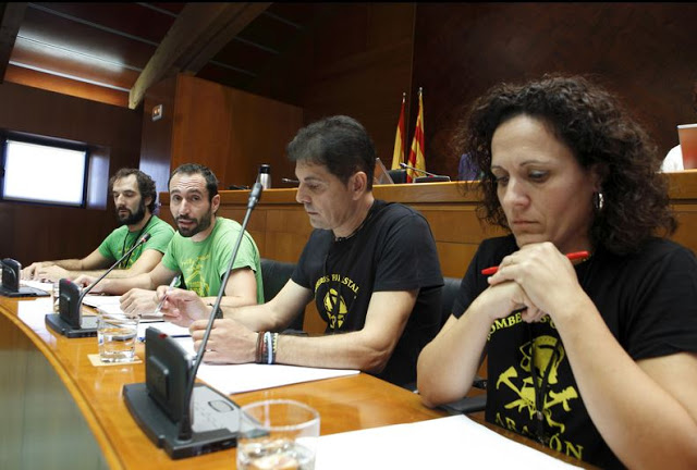 Podemos solicita al Gobierno de Aragón que aclare el pago de dietas y comidas a altos directivos de la empresa pública SARGA