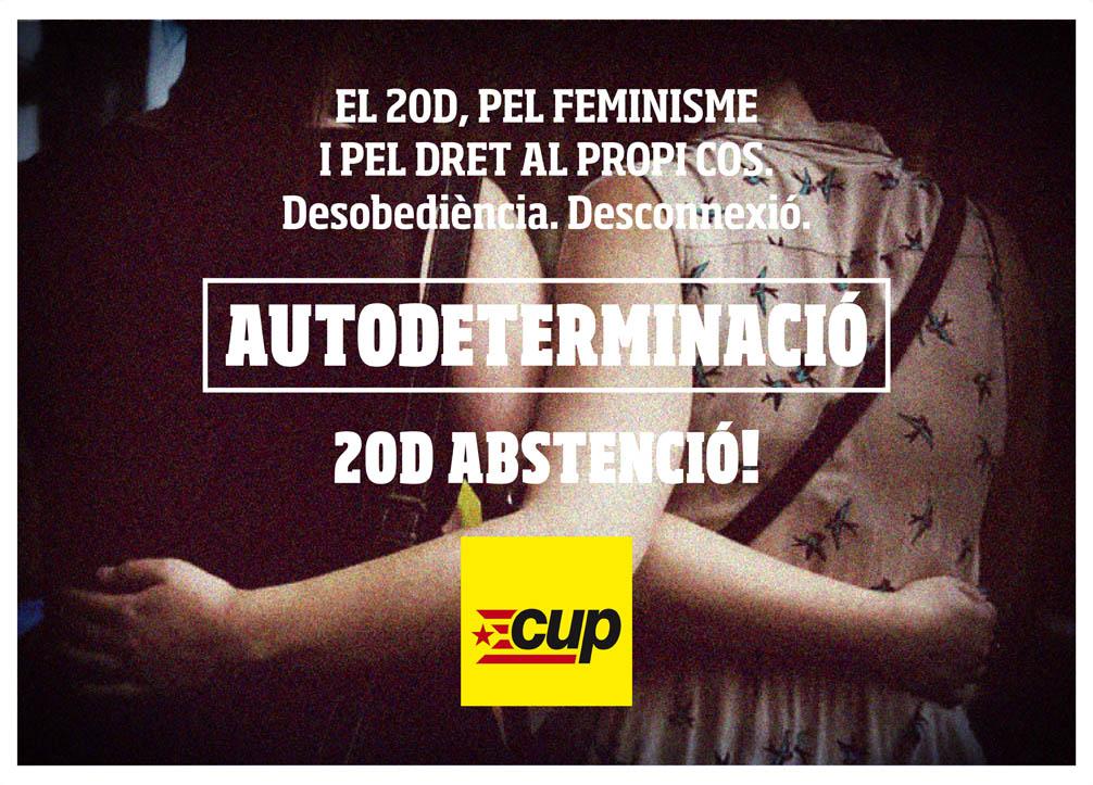 La CUP demana l'abstenció a les eleccions del 20D