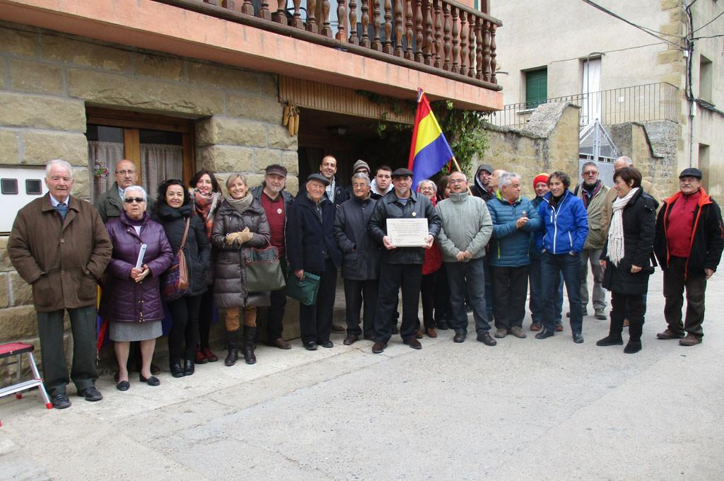 Emocionante celebración del 85º Aniversario de la 'Sublevación de Jaca' en Biscarrués