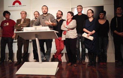 La CUP comparte la comparecencia de Puigdemont y le pide comenzar la acción de gobierno