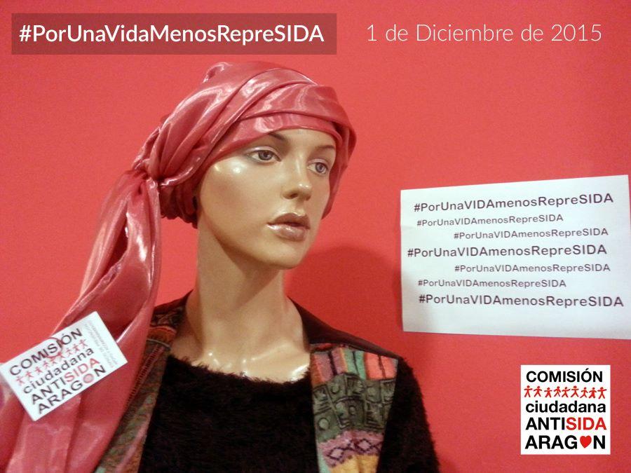 La Comisión Ciudadana Antisida de Aragón lanza el vídeo #PorUnaVIDAmenosRepreSIDA