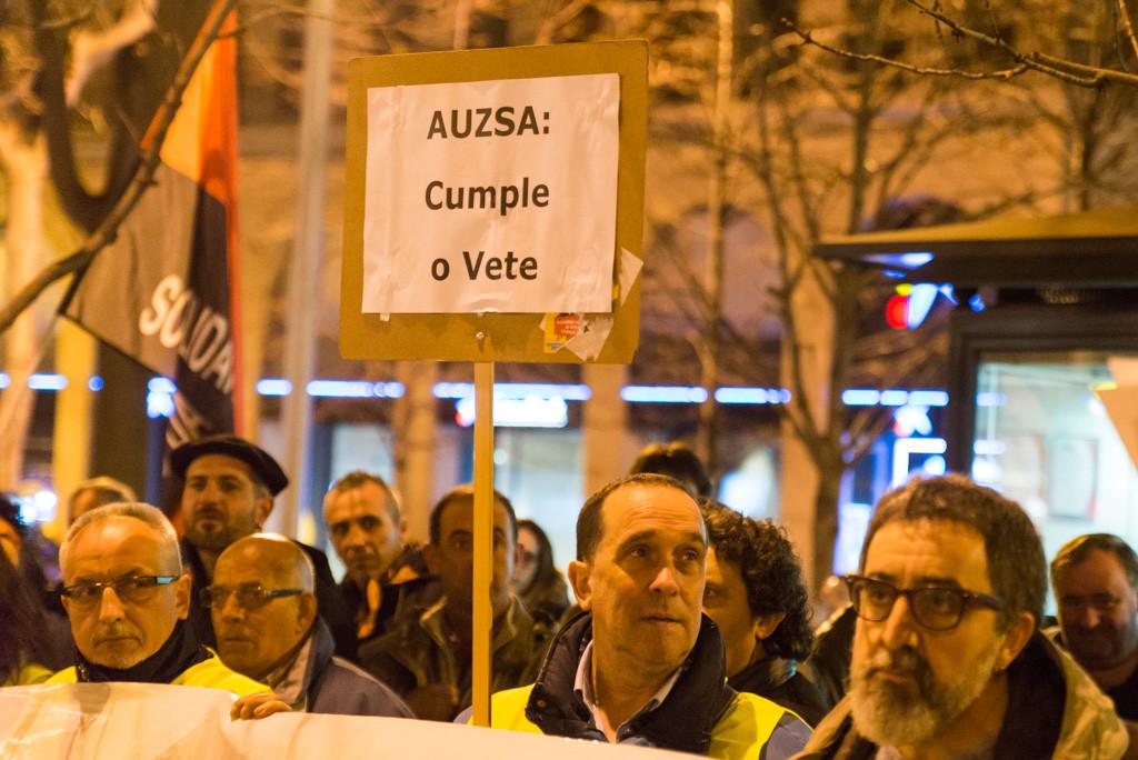 El comité de AUZSA denuncia el incumplimiento del convenio y se plantea nuevos paros