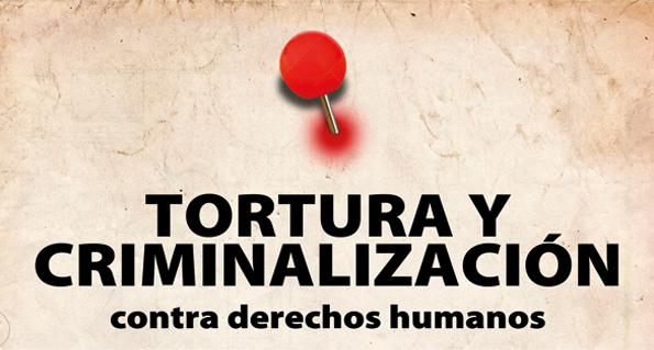 Tortura y criminalización contra derechos humanos