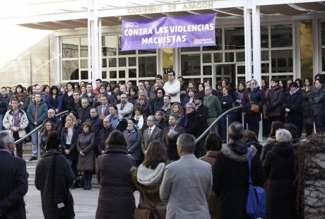 El Gobierno de Aragón manifiesta su más enérgica repulsa por el asesinato de una mujer en Zaragoza, víctima de la violencia machista
