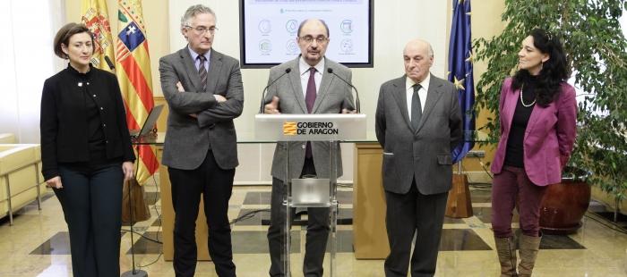 El Gobierno de Aragón se adhiere al compromiso por el Clima