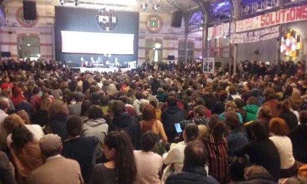 Contra el fracking en París