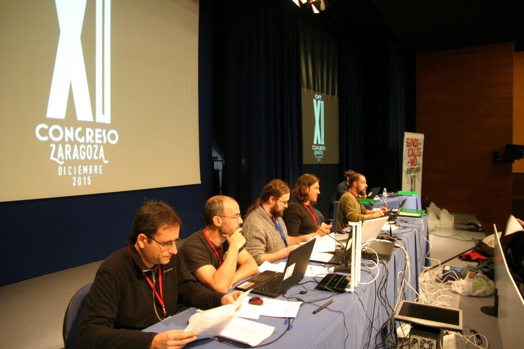 Finaliza el XI Congreso de CNT en Zaragoza