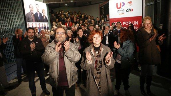 Unidad Popular quiere «ser la voz de Aragón en el Congreso»