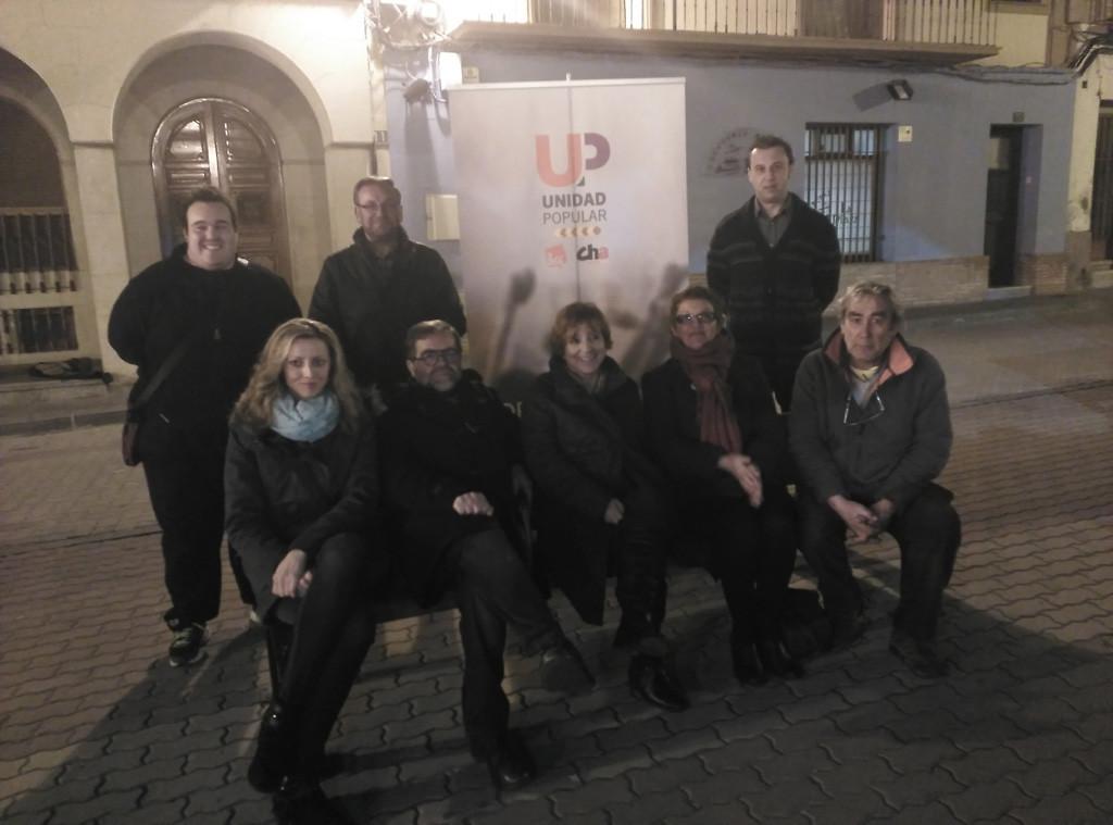 Unidad Popular no pudo disponer del espacio electoral público en Illueca, previamente concedido, porque el Ayuntamiento «lo tenía cerrado»