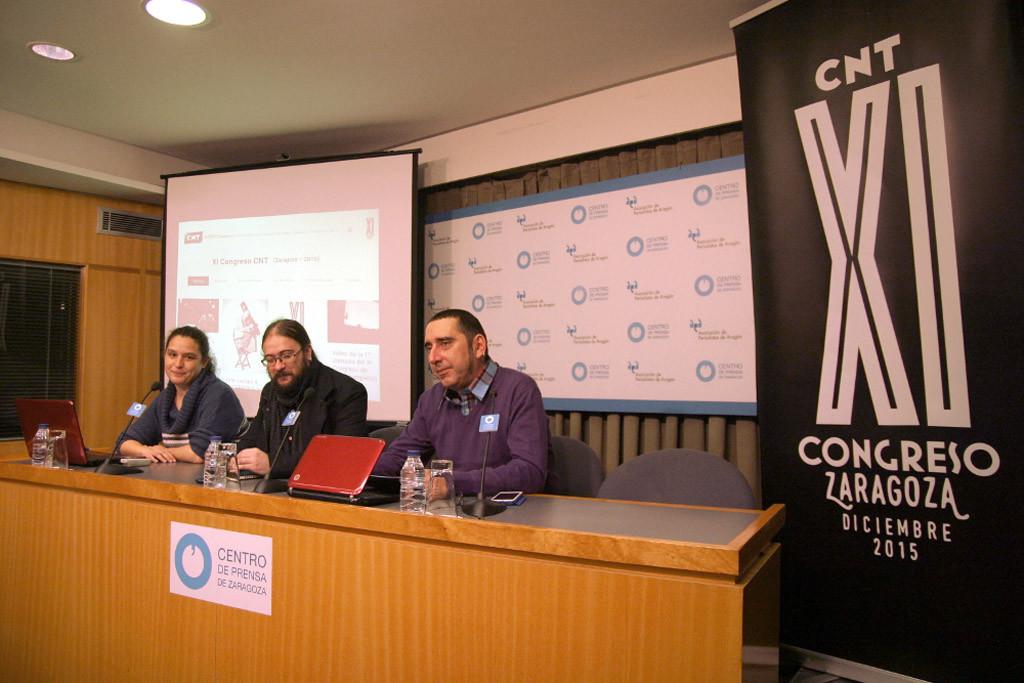 Comienza el XI Congreso de CNT en Zaragoza