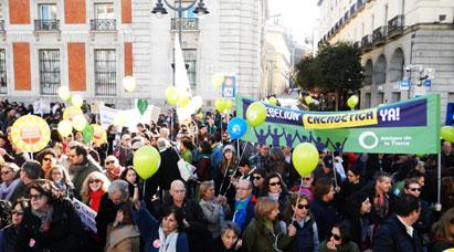 Amigos de la Tierra reclama un cambio en el curso de las negociaciones del clima