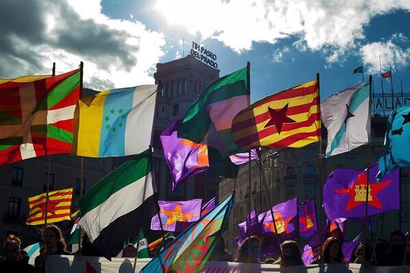 Nueve formaciones políticas suscriben el manifiesto «Los pueblos tenemos la palabra»