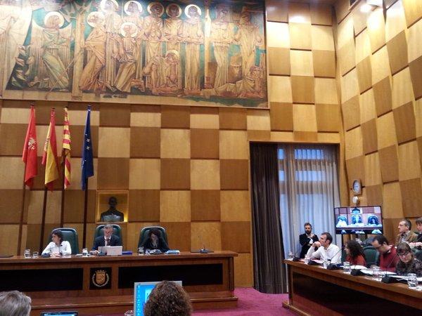 Último pleno del nuevo gobierno de las 'fuerzas del cambio' en Zaragoza