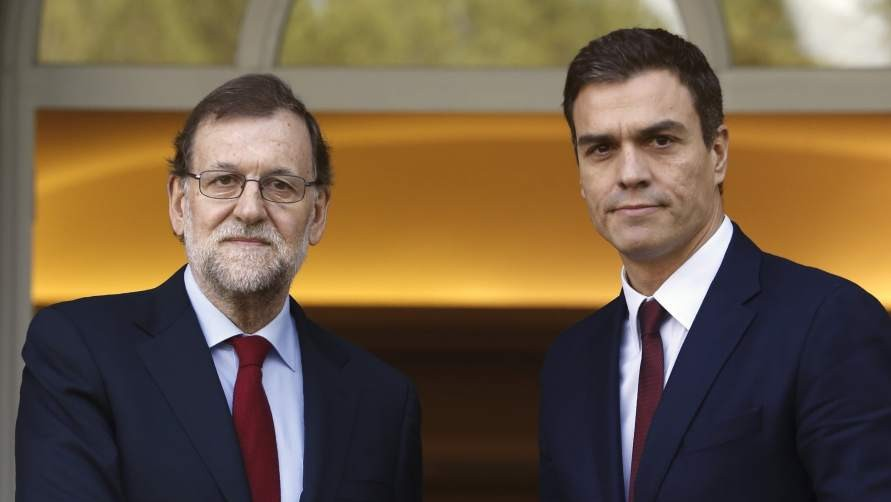 Sánchez reitera a Rajoy un no rotundo del PSOE a su investidura