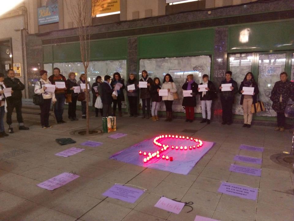 «Jueves Contra la Violencia de Género» en Uesca