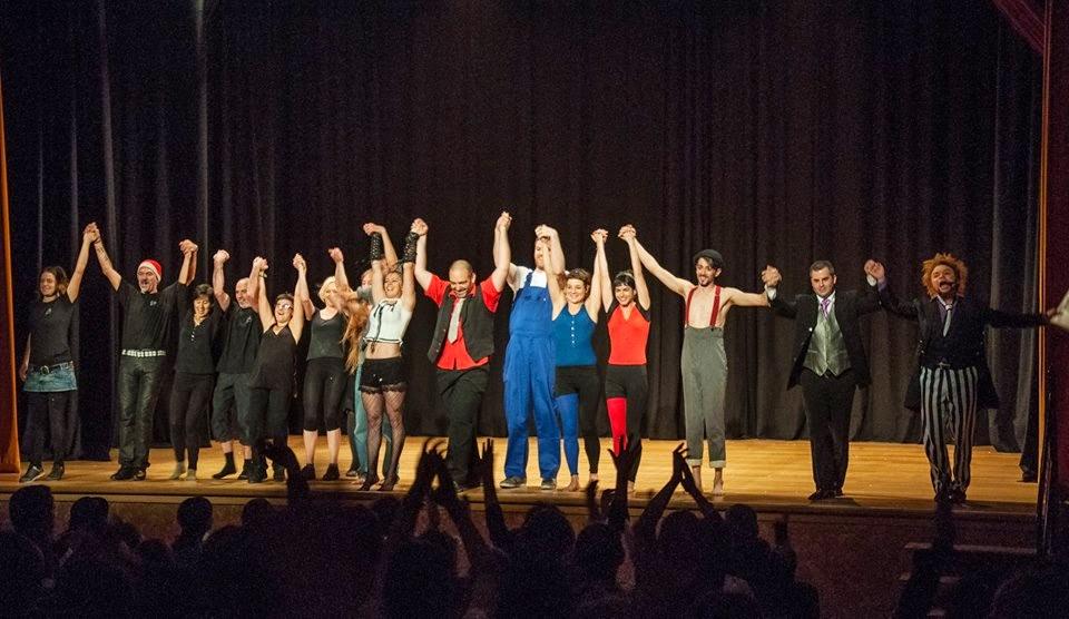 Teatro, danza y circo se citan en el Garibolo 15 de la AMZ