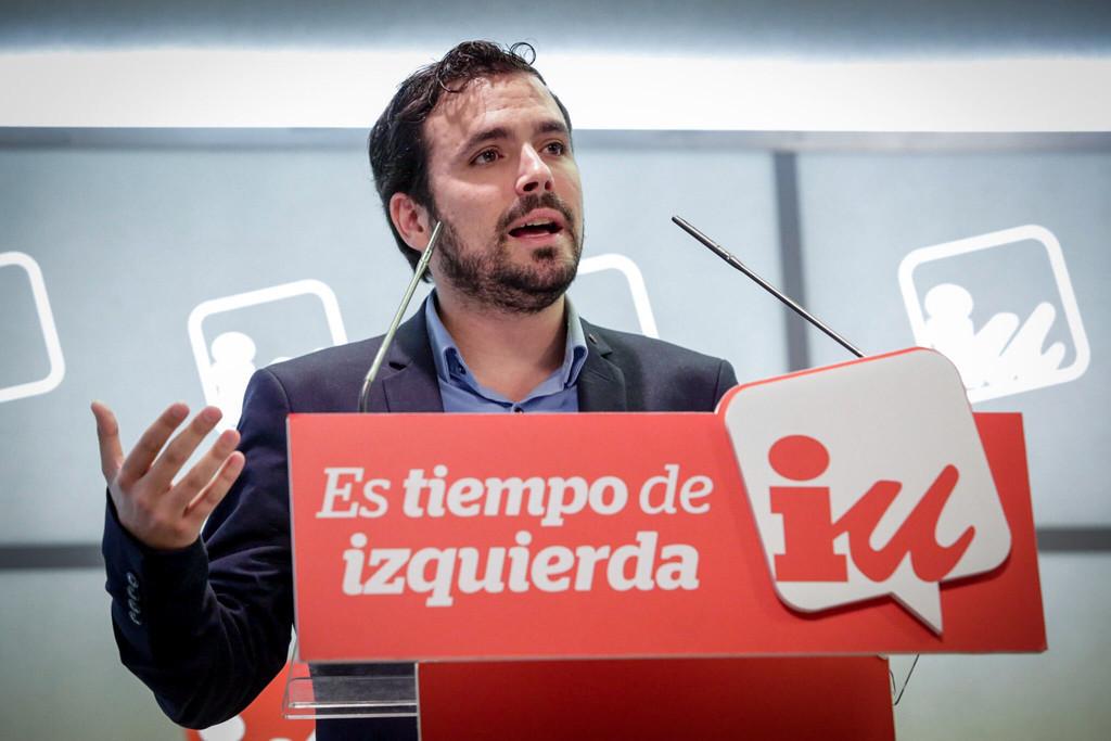 Alberto Garzón: «El capitalismo se llevó las casas de la gente, no los comunistas»
