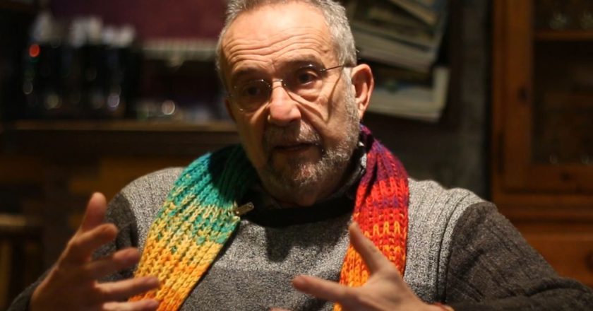 Pedro Arrojo, durante la entrevista