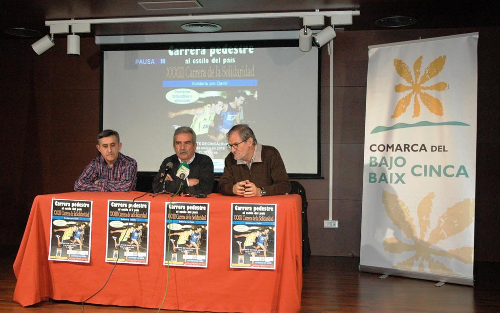 Torrent d'a Cinca acoge la XXXIII Carrera de la Solidaridad