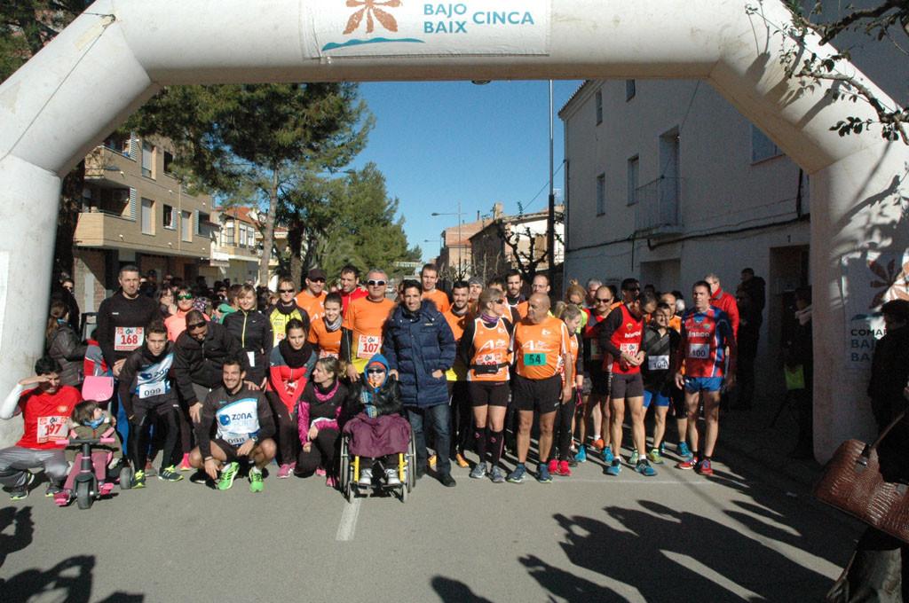 Éxito de la XXXIII Carrera de la Solidaridad en Torrent d'a Cinca