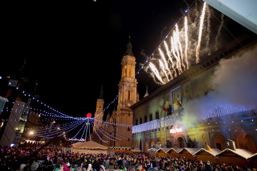Zaragoza da la bienvenida al 2016