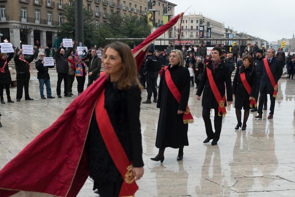 MHUEL reclama un protocolo laico en el Ayuntamiento de Zaragoza