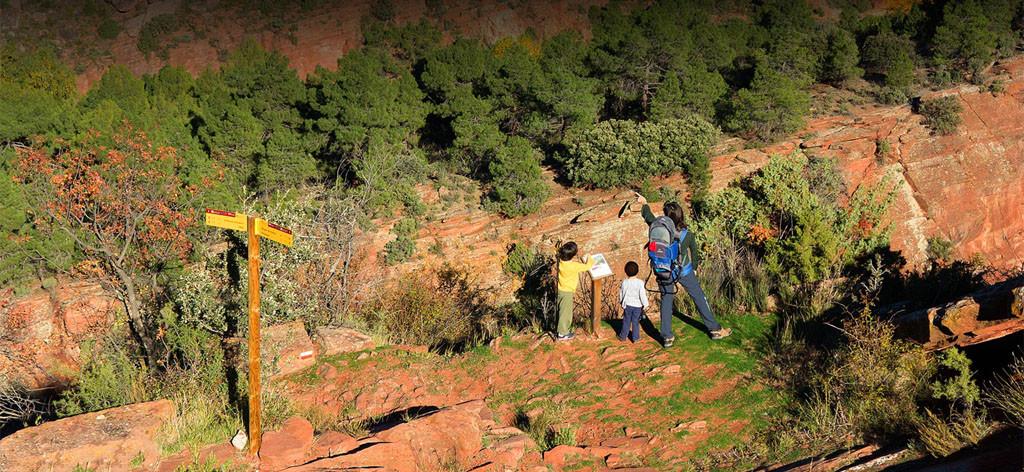 Aragón registra un millón y medio de senderistas al año