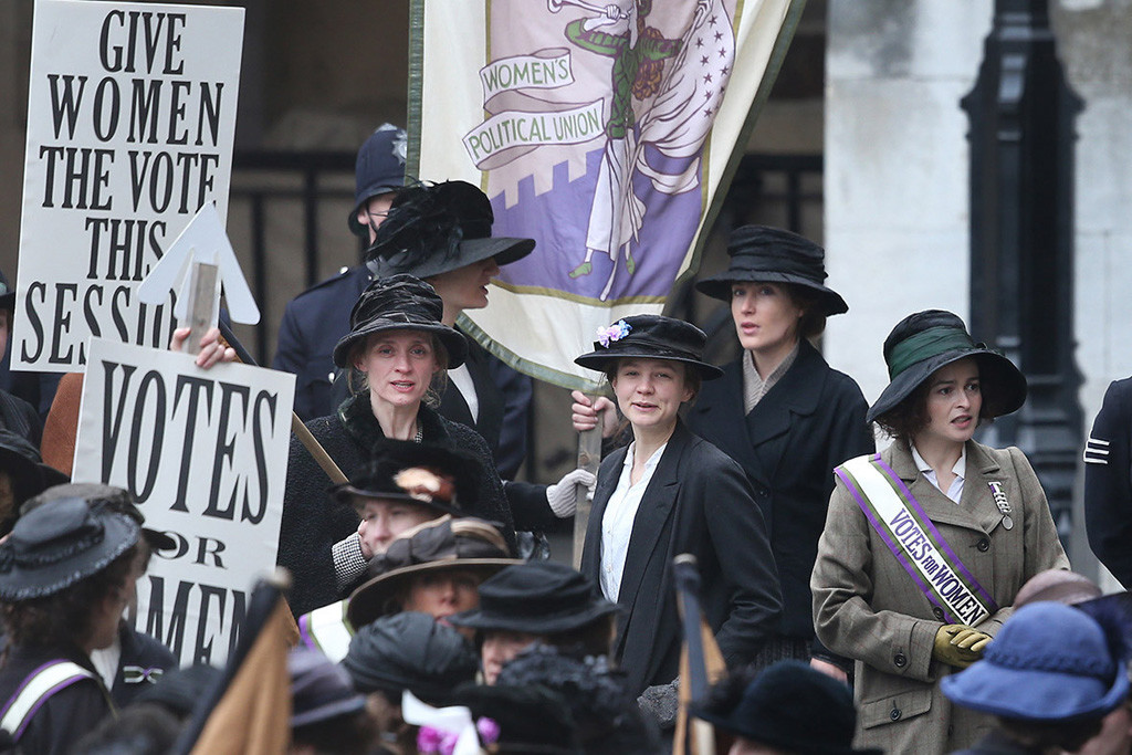 'Sufragistas': construyendo épica feminista
