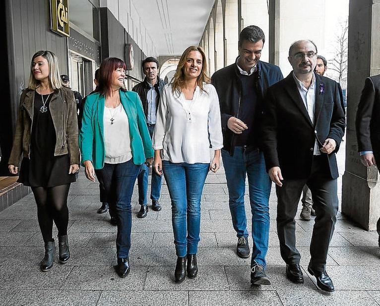 Javier Lambán insta al PSOE Aragón a una «guerra abierta» contra Susana Sumelzo