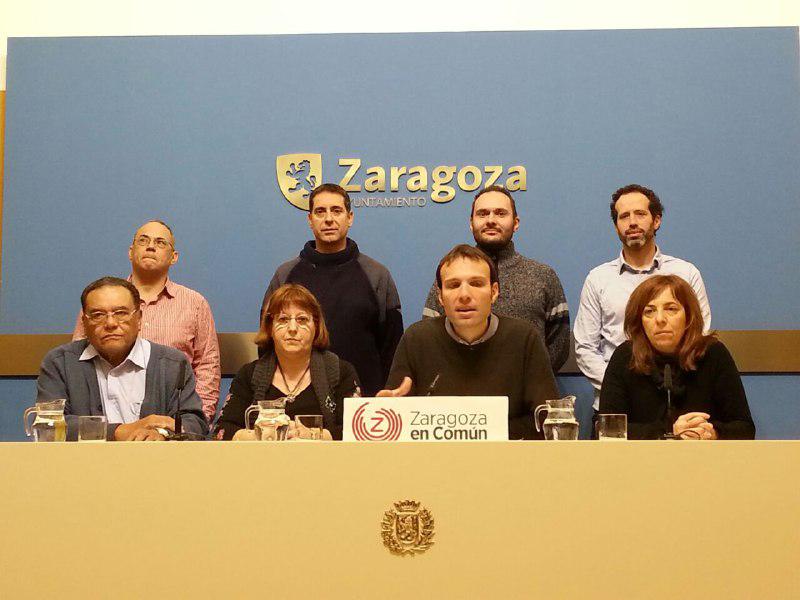 """Arranca la campaña de Zaragoza en Común en los barrios rurales con el lema """"Vivir nuestra ciudad, vivir nuestros barrios"""""""