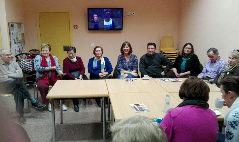 """La campaña electoral """"En Común"""" en barrios rurales llega a La Cartuja, Montañana y Monzalbarba"""