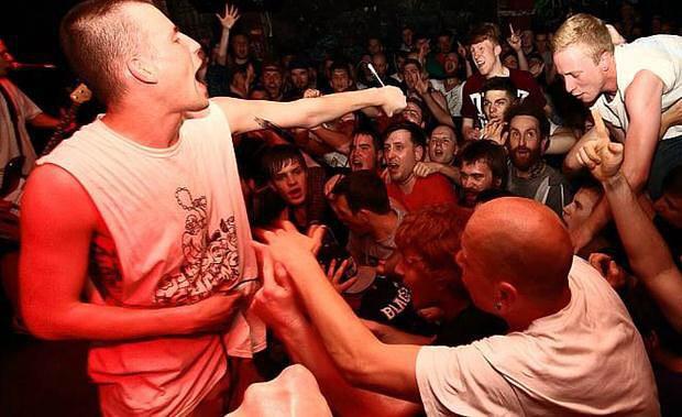 Sesión hardcore en la sala King Kong con No Turning Back y Nuestroctubre
