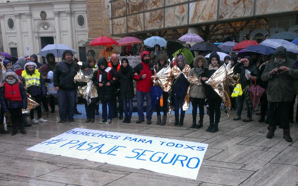 Zaragoza se moviliza y exige derechos para todas las personas refugiadas