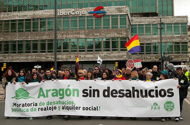 La Oficina Municipal de Vivienda de Zaragoza ha evitado 242 casos de desahucios en 2015