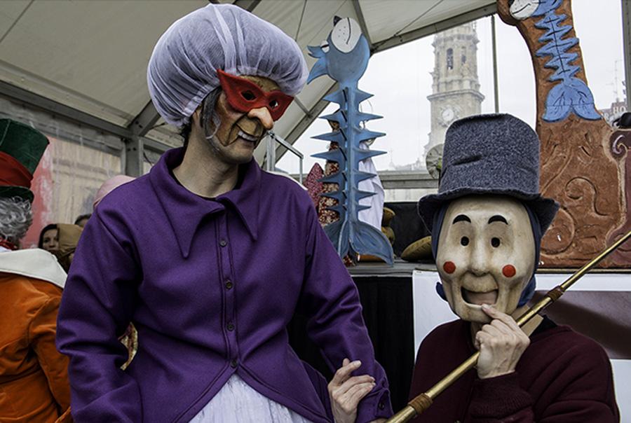 El Carnaval Infantil se extiende a los barrios de Zaragoza