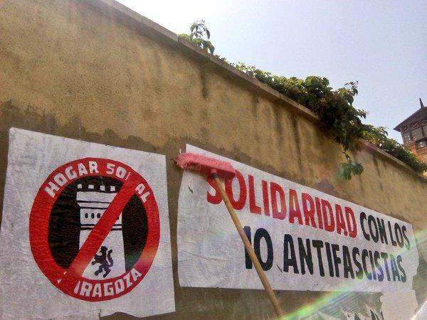 Ascienden a 11 los antifascistas encausados por la pelea en el Hogar Social nazi de Zaragoza
