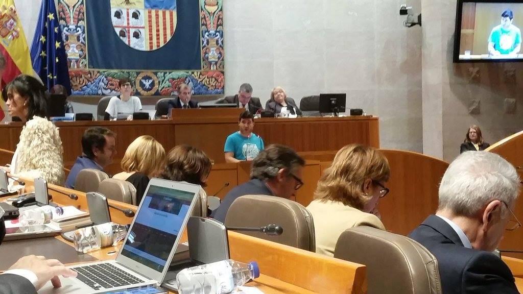 """Las Cortes muestran su preocupación por """"la situación generada en los pueblos afectados por las expropiaciones"""""""