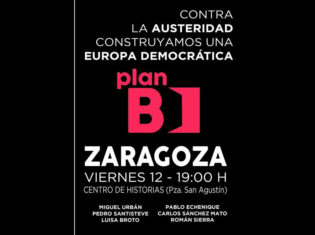 """Zaragoza acoge la presentación de las Jornadas sobre el """"Plan B"""""""