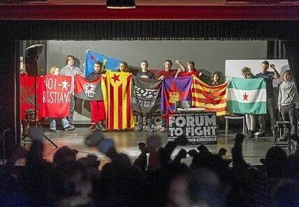 Pasos adelante en Forum To Fight para direccionar las luchas estudiantiles de Europa