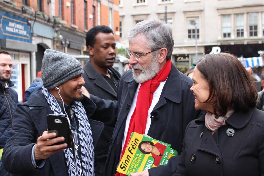 «Cambio sísmico en la política irlandesa»