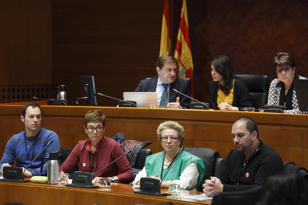 """La PAH tacha de """"cortina de humo"""" el decreto de vivienda recién aprobado por el Ejecutivo aragonés"""