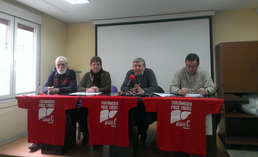 La Plataforma de personas Afectadas por Hepatitis C en Aragón continúa con sus demandas a la clase política