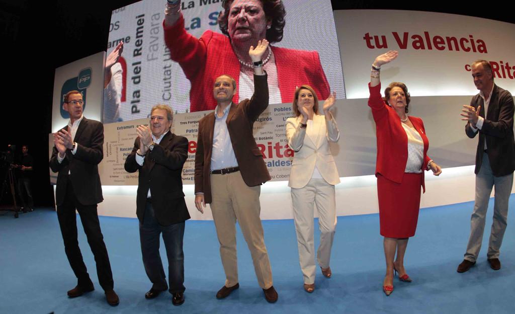 El PP blinda el aforamiento de Rita Barberá