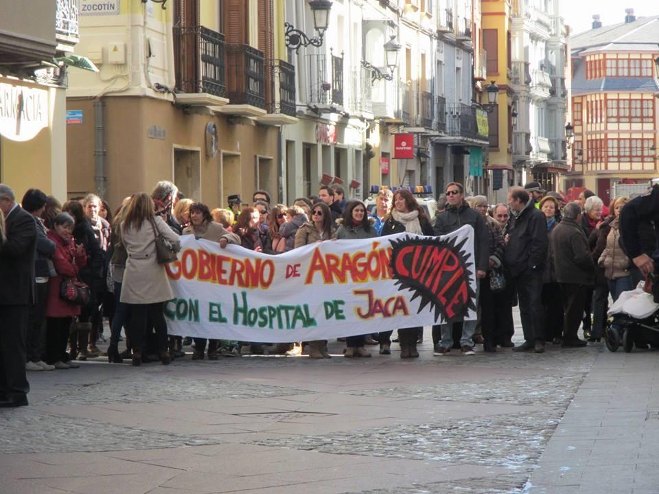 """Podemos critica el """"inmovilismo"""" del Gobierno de Aragón sobre el hospital de Chaca"""