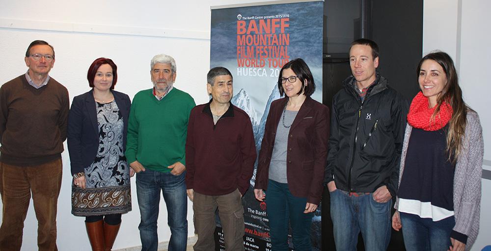 Uesca recibirá la primera visita estatal del festival de cine de montaña de Banff