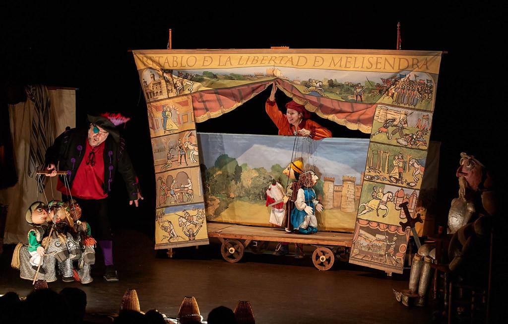 """Teatro Arbolé estrena para el público familiar la obra """"Don Quijote por la Mancha de Aragón"""""""