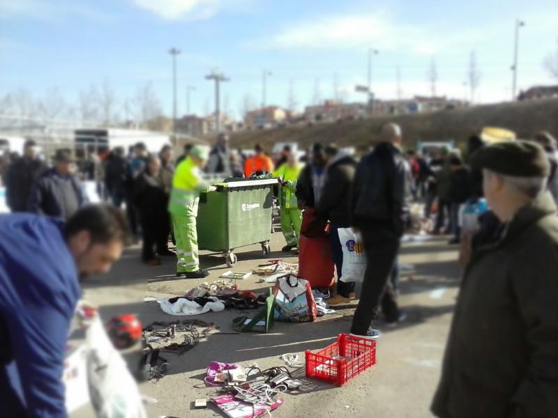 Derechos Civiles denuncia la actuación de la UAPO en el Rastro