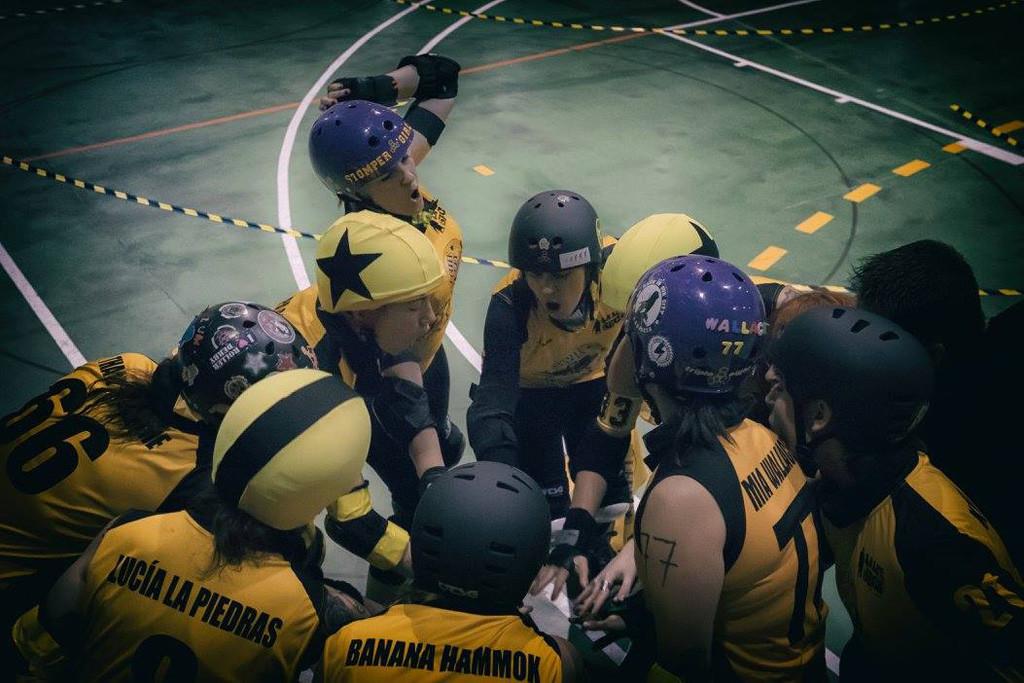 Aragón tiene equipo de Roller Derby, Las Sicarias del Cierzo, y reclutan nuevas jugadoras