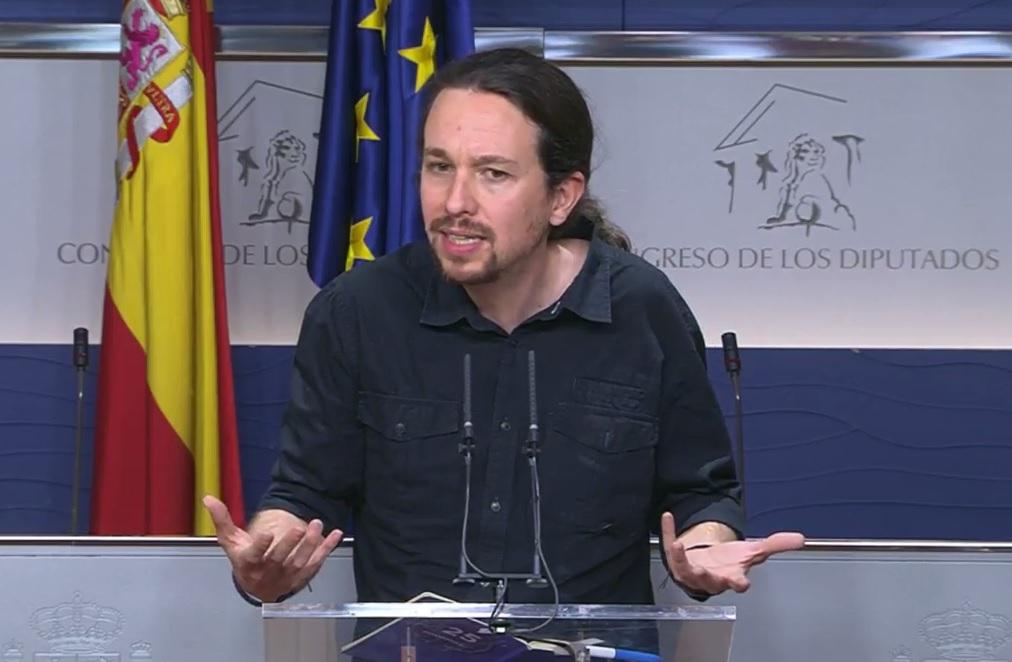 Pablo Iglesias vuelve a ofrecer un gobierno progresista a Felipe VI