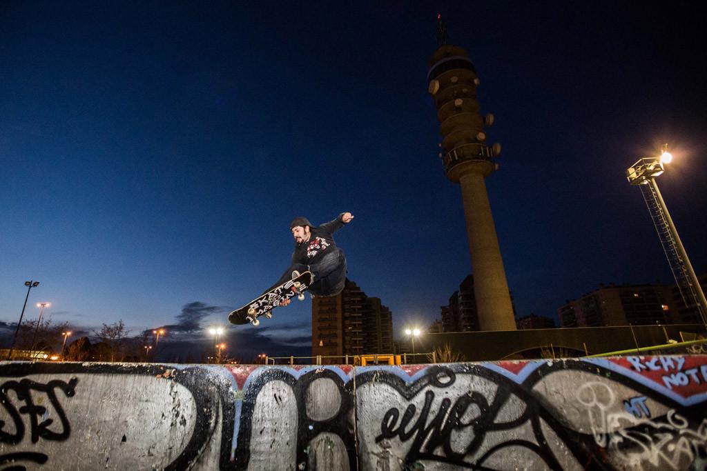 El Ayuntamiento de Zaragoza apuesta por impulsar el skate con la remodelación de la instalación deportiva de Vía Hispanidad